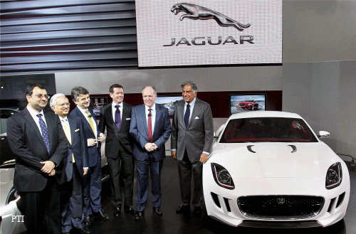 Auto Expo 2012: Four new Jaguar Land Rover models on display