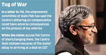 Centre, states again spar over compensation for central sales tax losses