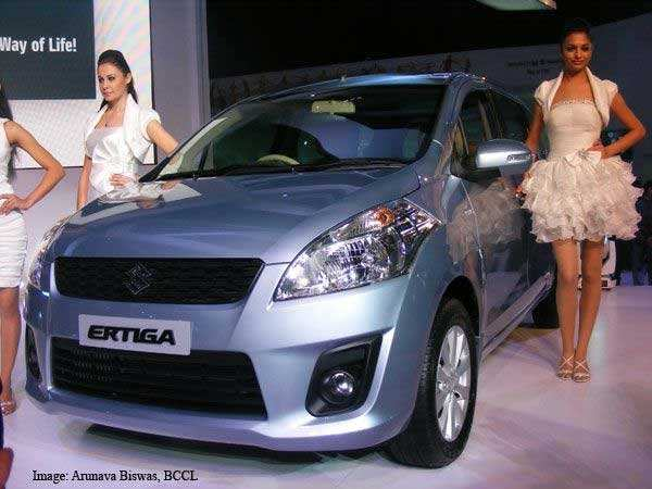 Maruti Suzuki Ertiga set for launch on April 12Maruti Suzuki Ertiga set for launch on April 12