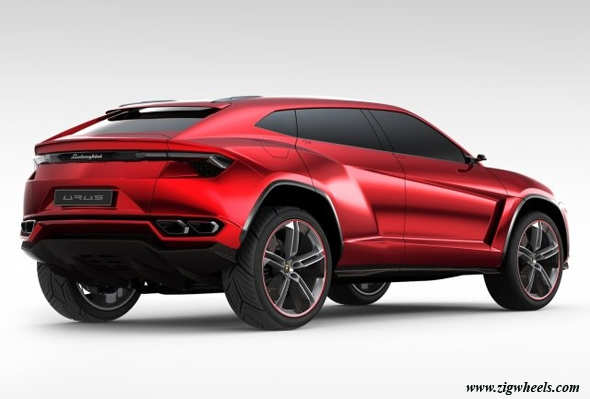 New Lamborghini Urus breaks cover at 2012 Beijing Motor Show