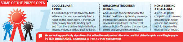 $4.5 mn X Prize in India by year-end; Ratan Tata among those determining prizes