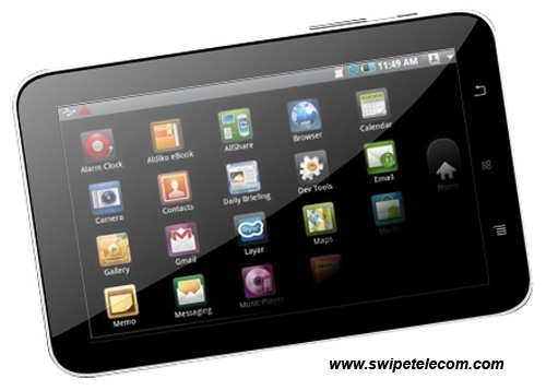 Swipe Telecom launches tablet PCs including first 3D Tab; price starts from Rs 5,999