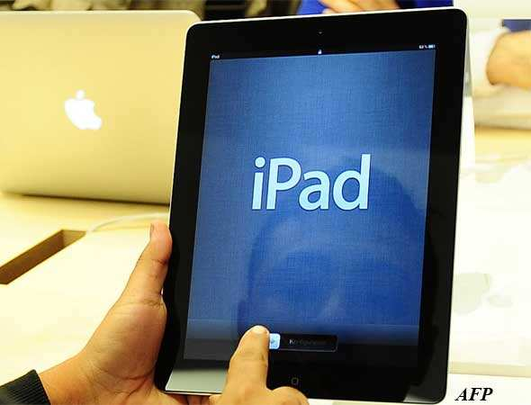 There's speculation that Apple will come out with a mini iPad this fall to compete with those competitors