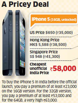 iPhone 5: Apple's latest phone sees brisk trade in India; lack of nano SIMs keeps users disconnected