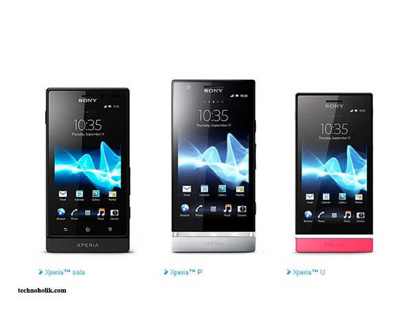 Sony's Xperia P, U and Sola