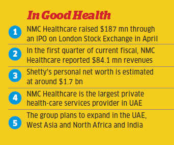 BR Shetty, owner of 2 floors in Burj Khalifa, wants to bring NMC hospital chain to India
