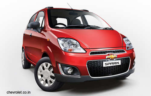 Chevrolet Spark face-lift