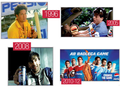 Pepsi has backed memorable campaigns over years