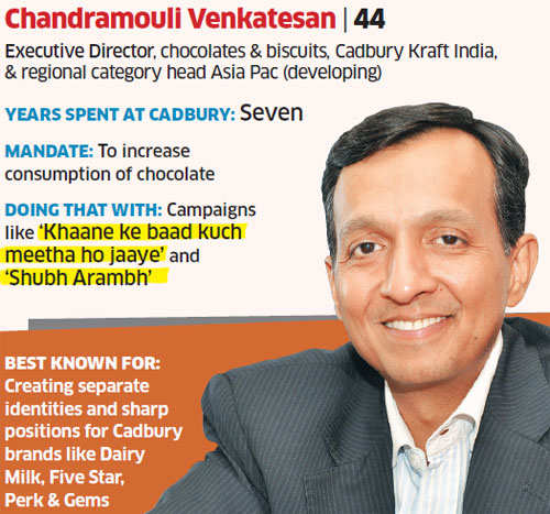 How Cadbury's Venkatesan is trying to replace mithai with chocolate
