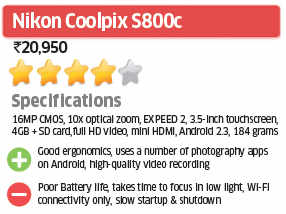Nikon Coolpix S800c: ET Review