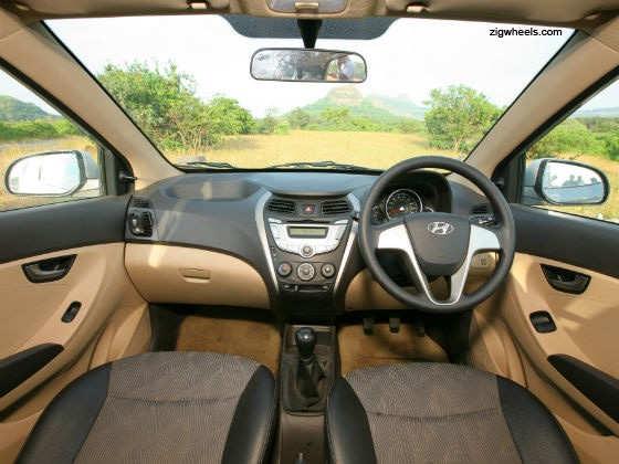 Hyundai Eon interior