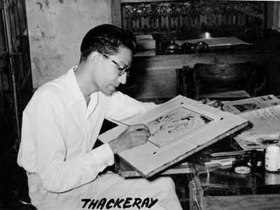 Bal Thackeray through the years