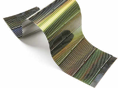 Flexible solar cells have a number of uses in daily life