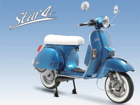 EICMA 2012: LML showcases Star Light and Star 125cc 4T Automatica scooters