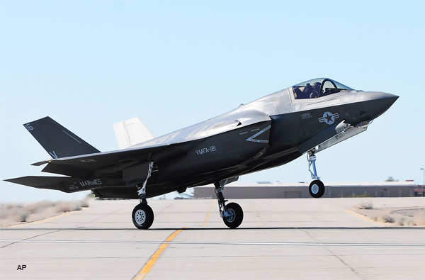 The second F-35B Joint Strike Fighter to call Marine Corps Air Station in Yuma