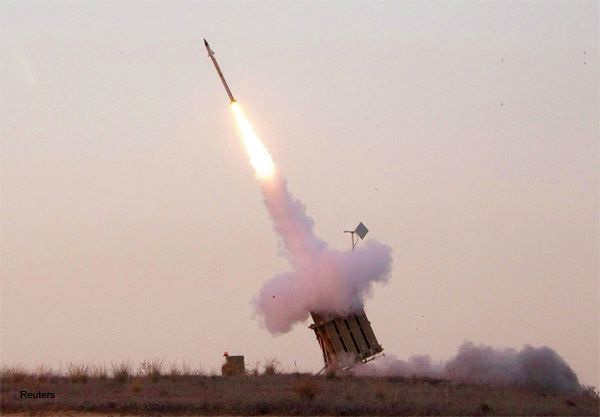 An Iron Dome launcher fires an interceptor rocket near the southern town of Sderot November 15, 2012.