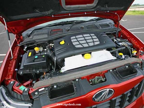 Mahindra Quanto engine