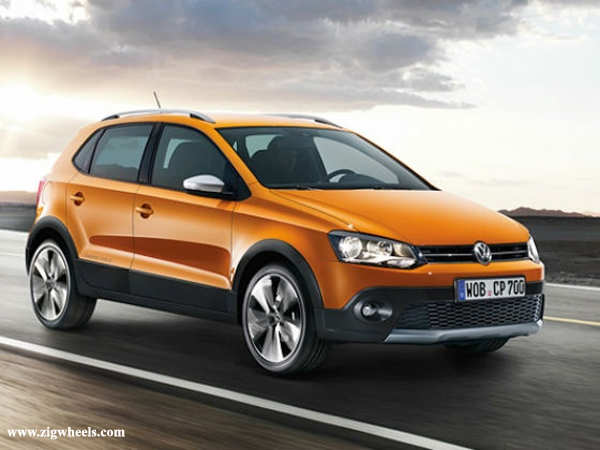 Volkswagen is set to launch the Cross Polo in early 2013