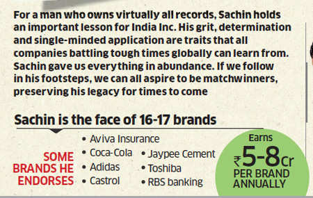 Will Sachin Tendulkar's retirement from ODI cricket diminish his brand value?