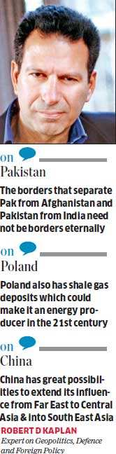 Pakistan can't hold together as a state, says Robert D Kaplan