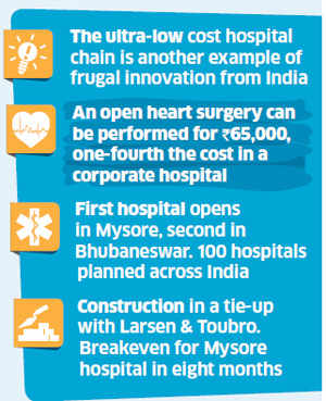 Frugal innovation: Devi Shetty's Narayana Hrudayalaya to conduct heart surgeries at world's cheapest rates