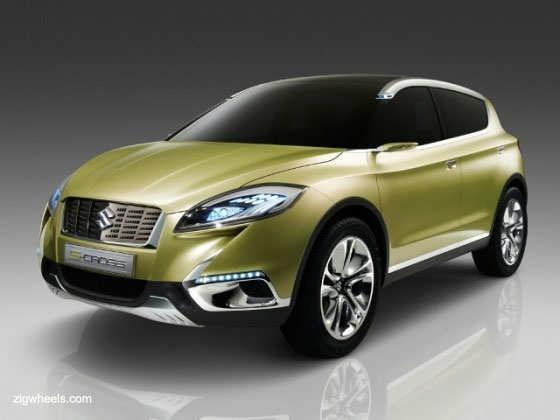 Suzuki's S-CROSS Concept unveiled at Paris Auto Show 2012
