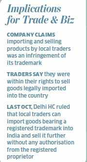 Traders get Supreme Court notice on imported Samsung goods