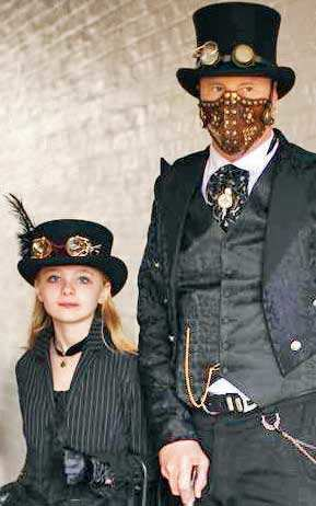 Steampunk! introducing Britain's latest fashion craze