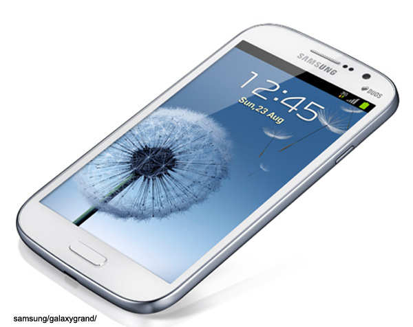 Samsung showcases Galaxy Grand smartphone