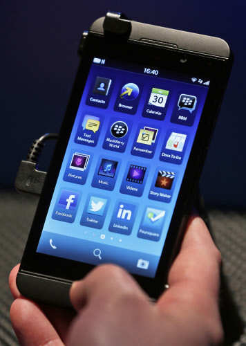 BlackBerry unveils BlackBerry Z10 and BlackBerry Q10 smartphones