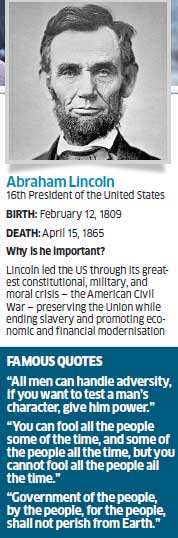 Management lessons from America's greatest leader Abraham Lincoln