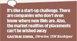 Newer IIMs seek professional help to get their students placed