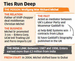 Chopper deal: Middleman Christian Michel's family has links with British society, Delhi since 1980s