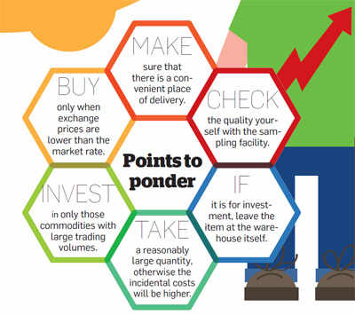 Points to ponder when buying from commodity exchanges