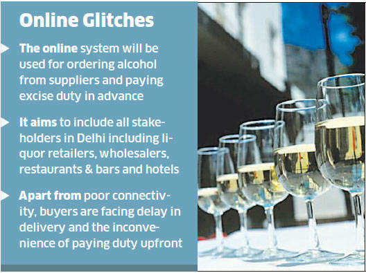 Delhi government defers project to shift liquor business online
