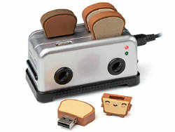 Toaster Hub Thumbdrives