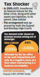 Aditya Birla group companies—Idea Cellular and Aditya Birla Telecom — have been asked to pay Rs3,900 crore in taxes.