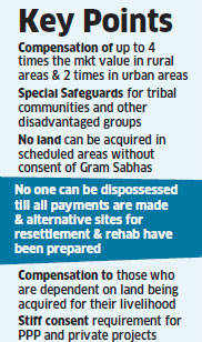 Govt gives in to opposition demand on Land Bill; claims consensus