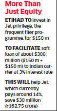 Jet Airways gets $300 million soft loan from Etihad; to help reduce borrowing costs