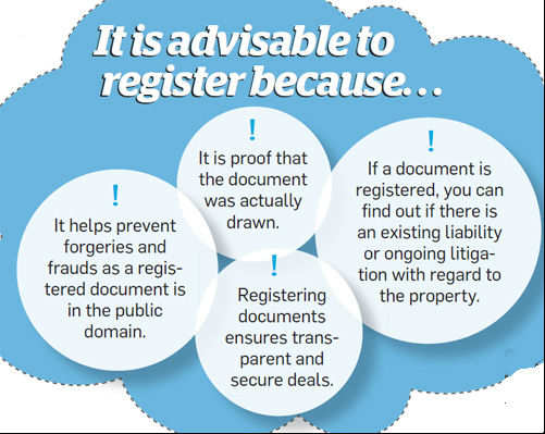 It is advisable to register because...