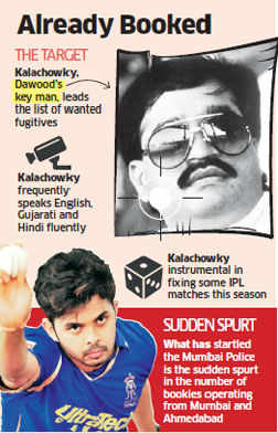 IPL spot-fixing scandal: D-Company Kalachowky lynchpin of betting ring