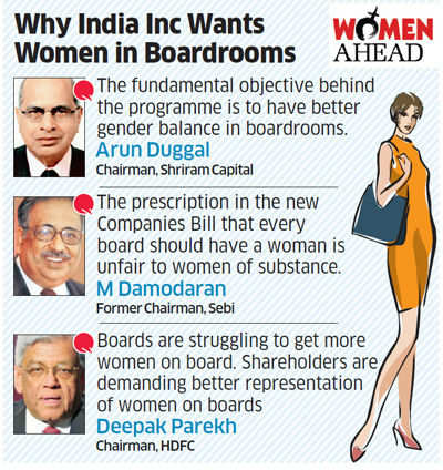 India Inc hiring icons like M Damodaran, Deepak Parekh & GM Rao to mentor women board members