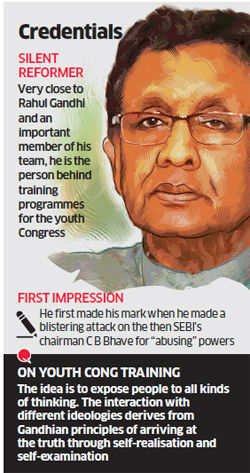 GM Gopal: Rahul Gandhi's referral man and old school social reformist