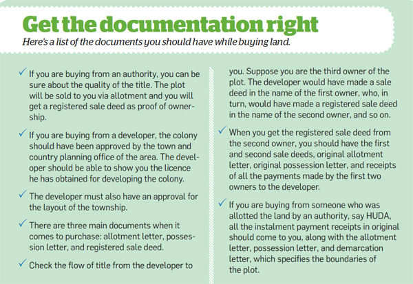 Get the documentation right