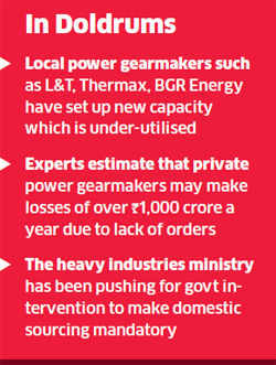 Power companies oppose govt plans to make domestic gear sourcing mandatory