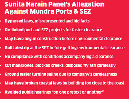 Environment ministry penalty on Adani group against green laws