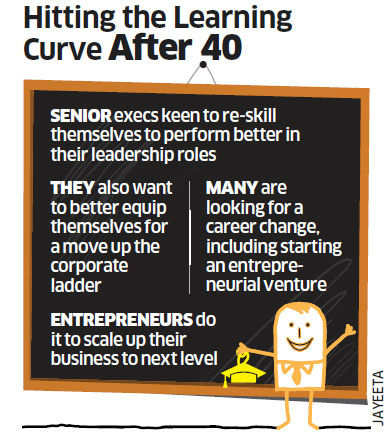 Many 40-plus executives go in for MBA to fast-track their career