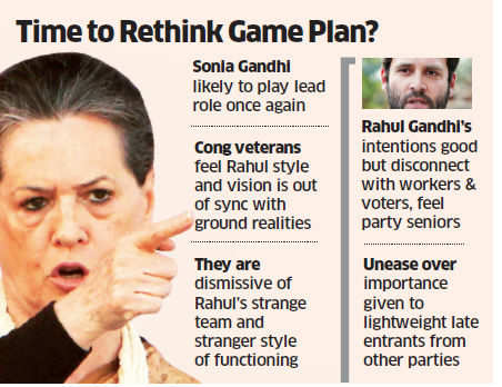 Rahul Gandhi's team and style of functioning a growing worry for Congress