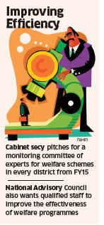 Professionals to help district collectors implement central schemes