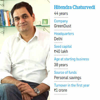 Hitendra Chaturvedi's Rs 100 crore company GreenDust tapped the reverse logistics space in India